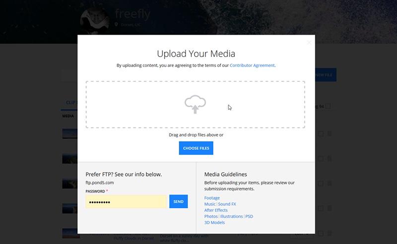 Uploading and Keywording