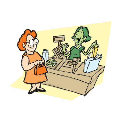 Sales Funnels - Supermarket
